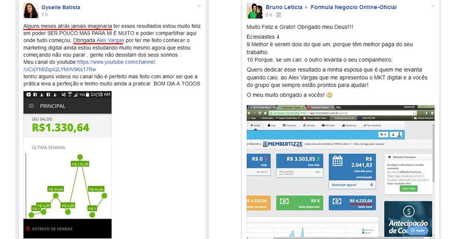 Formula Negocio Online - FNO - Alex Vargas - Curso de Marketing Digital - Depoimentos-2